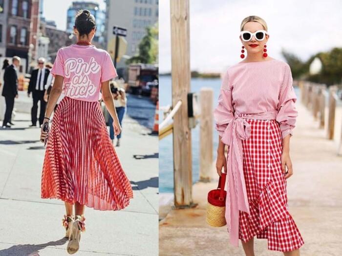 Dicas de Looks - Como Usar Looks em Rosa e Vermelho
