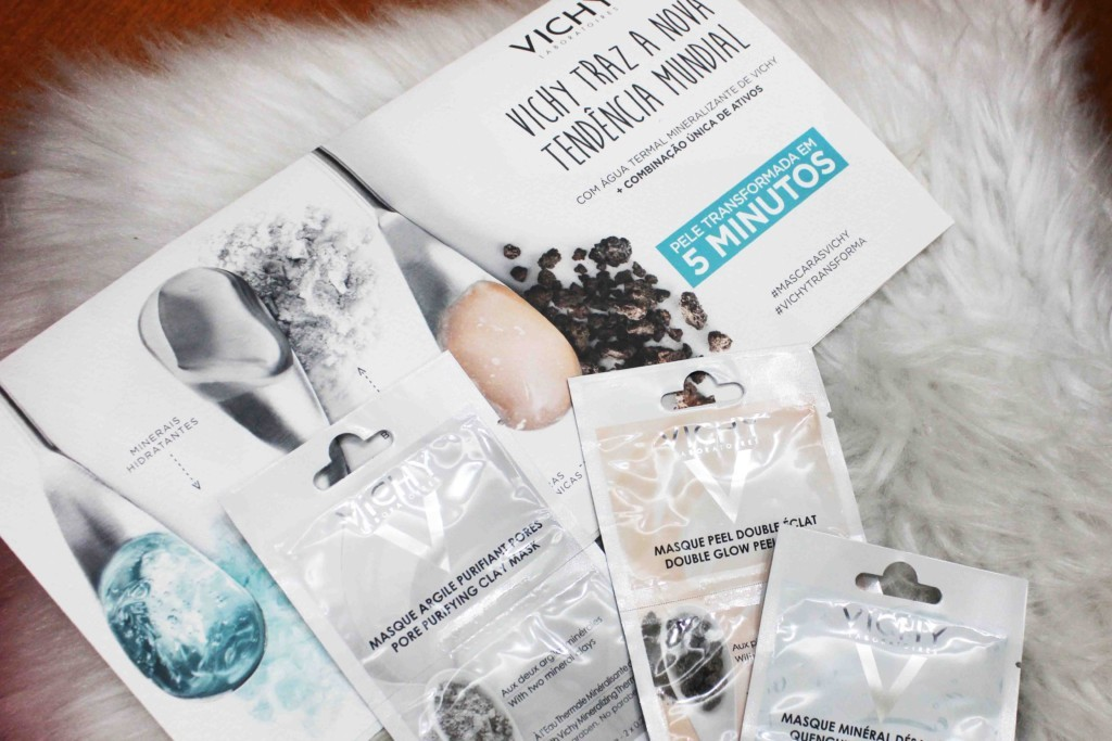 Resenha Vichy Máscara Mineral - Novas Máscara Faciais de Vichy