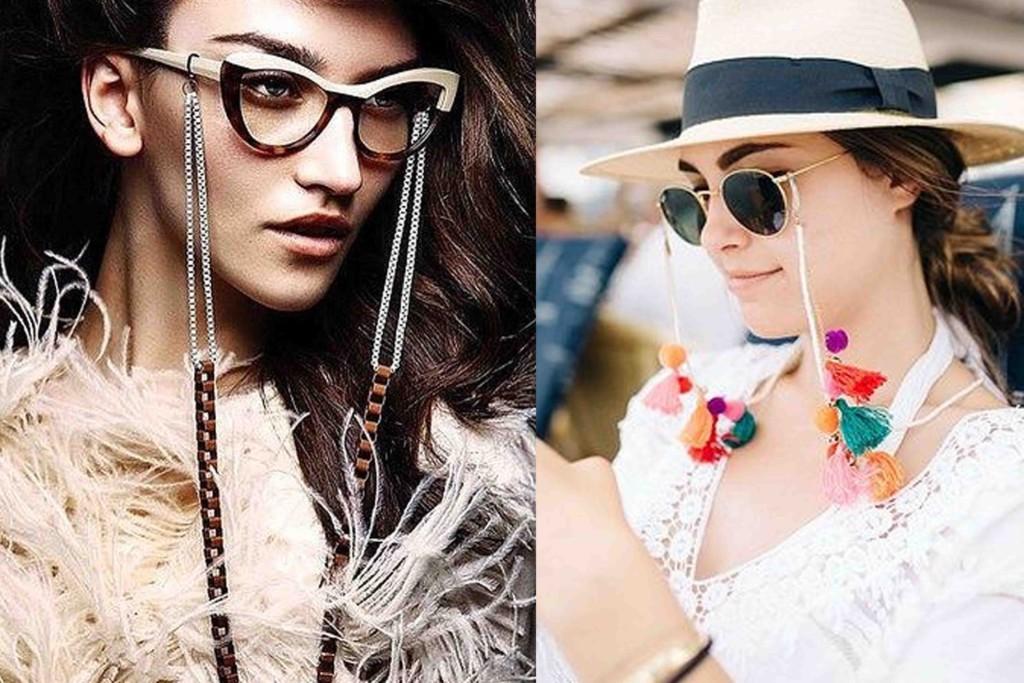 Tendência Cordinha para Óculos - Tendências Acessórios 2018
