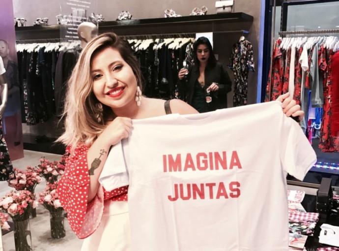 Campanha AMARO ImaginaJuntas Maina Belli