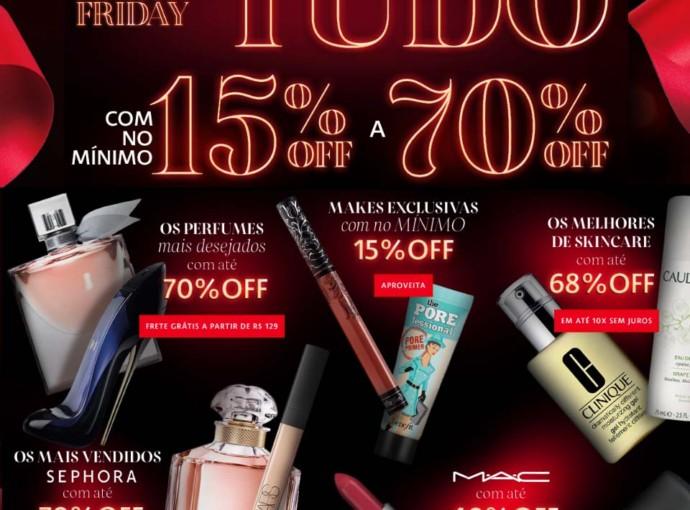 Sephora Black Friday 2017 Produtos de Beleza