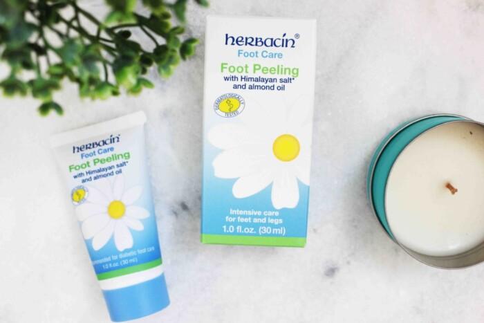 Linha de Cuidados com os Pés Herbacin Foot Care - Creme para os Pés, Peeling para os Pés e Gel Refrescante para as Pernas