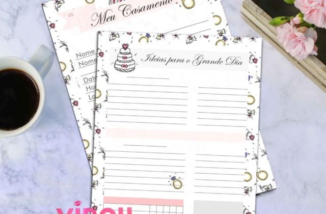 Planner de Casamento Diario da Noiva: Dicas de Como Planejar seu Casamento