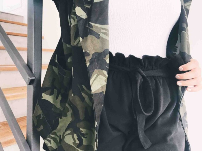 Look com Casaco Militar Tendencias Inverno