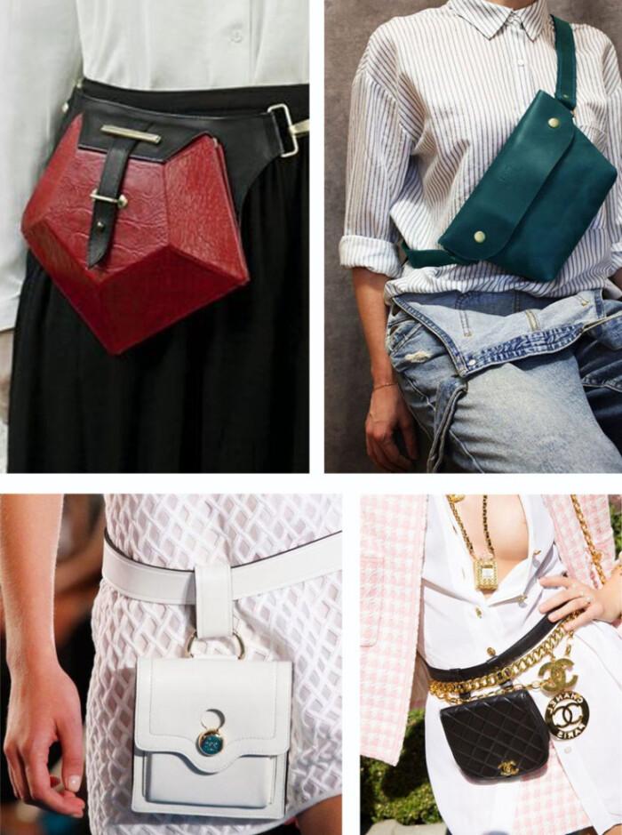 Pochete Fashion - Tendências Bolsas Inverno 2018 - As Bolsas da Moda em 2018