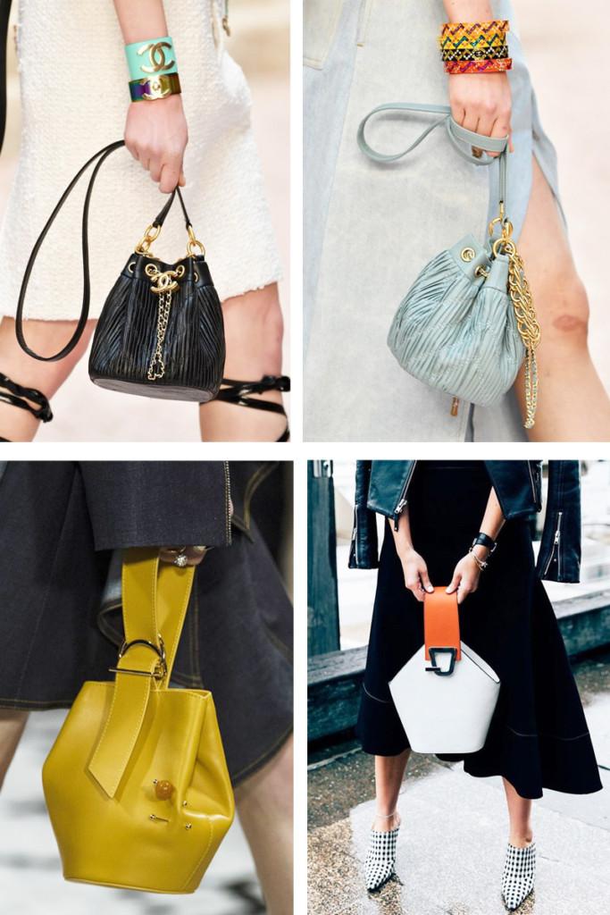 Bucket Bags - Bolsa Saco - Tendências Bolsas Inverno 2018 - As Bolsas da Moda em 2018