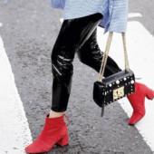 Como Usar Bota Vermelha - Tendências Sapatos Inverno 2018