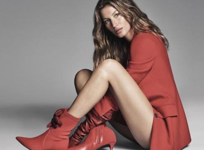 Gisele Bundchen para a Coleção Arezzo Inverno 2018 Tendências Sapatos Femininos Outono Inverno 2018