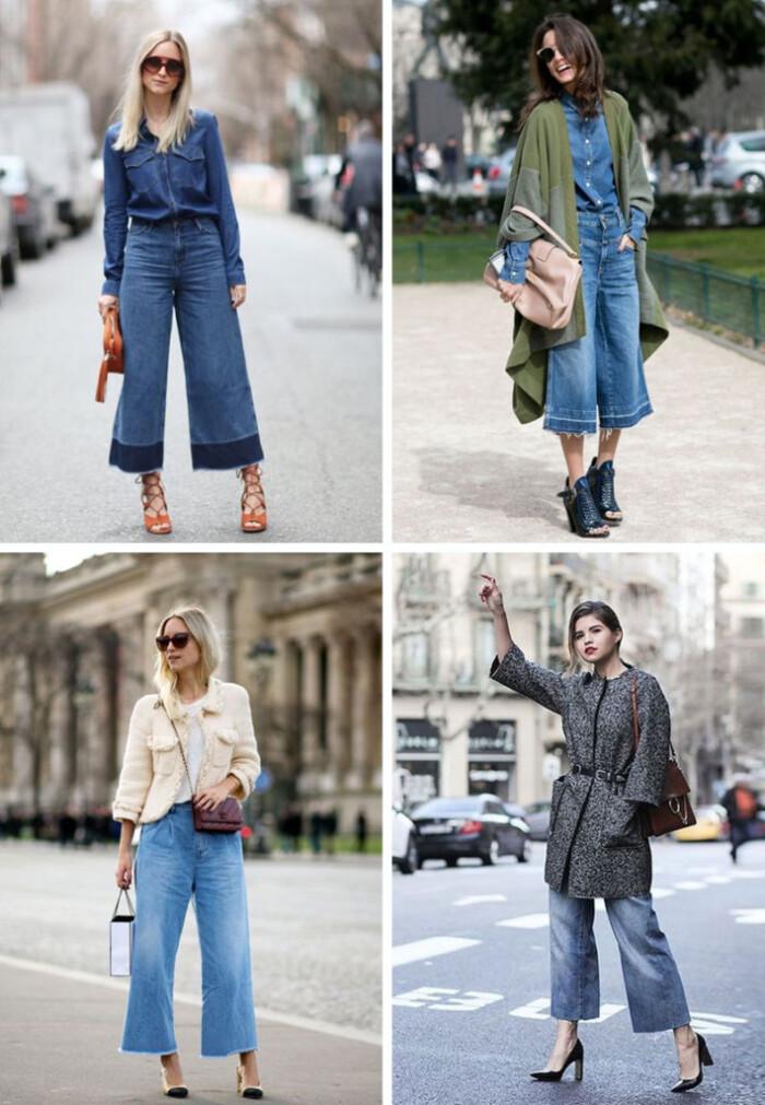 Tendências 2018 - Como Usar Pantacourt Jeans + dicas de looks com pantacourt jeans