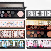 Paletas MAC Girls Rockin' Rebel, Mischief Minx, Fashion Fanatic, Basic Bitch, Prissy Princess e Power Hungry - Paletas de Sombras + Iluminador