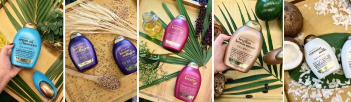 Produtos OGX Beauty Shampoo e Condicionador - Cuidados com os Cabelos