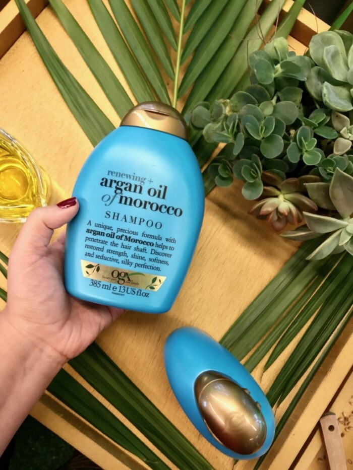 Produtos OGX Beauty - Shampoo e condicionador OGX Argan Oil of Morocco