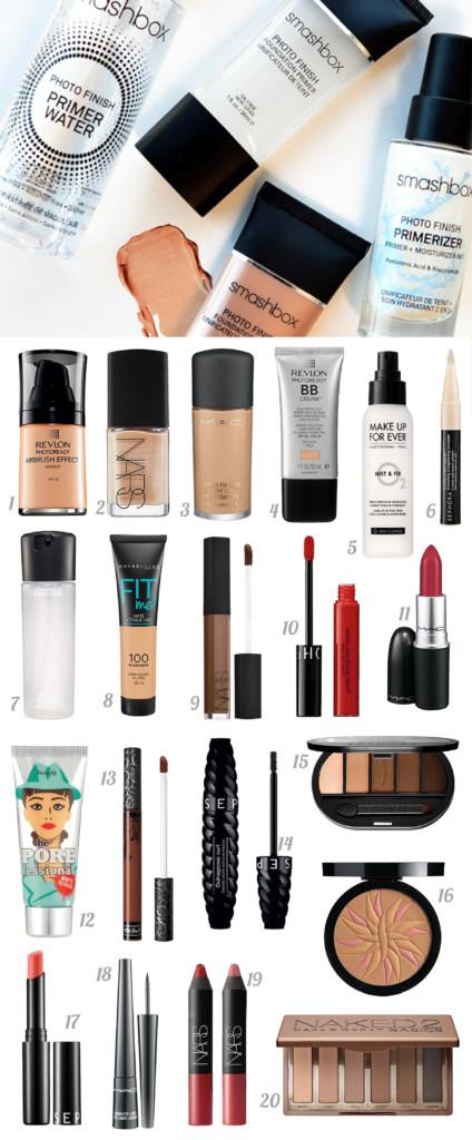 Promoção Sephora - Melhores makes e produtos de cuidados com a pele com descontos