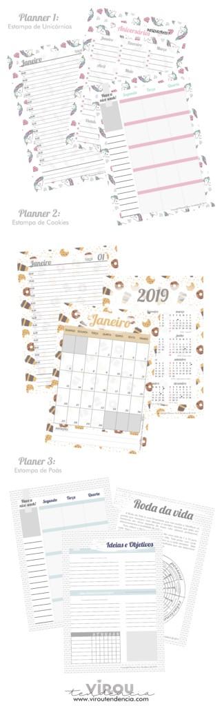 Conheça nossos Planners 2019!!