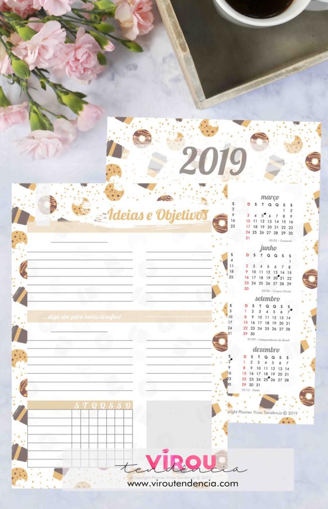 Planner 2019 - Cookies