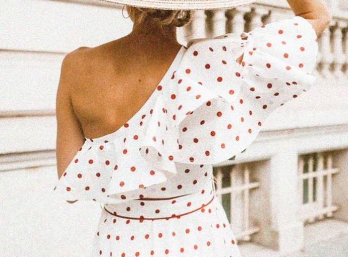 Como Usar Looks com Estampa de Poá - Tendência Estampa de Bolinha