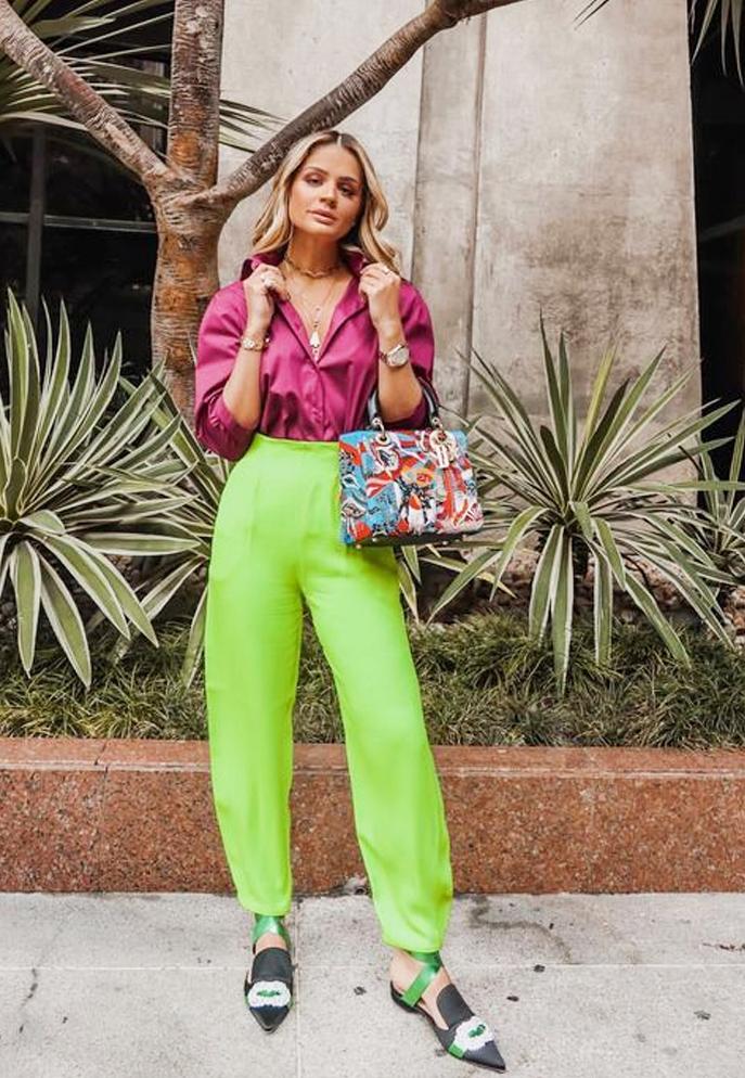 Tendência Looks Neon 2019