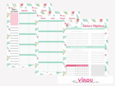 Planner 2019 para Download: 528 páginas de planejamento e organização + capa personalizada
