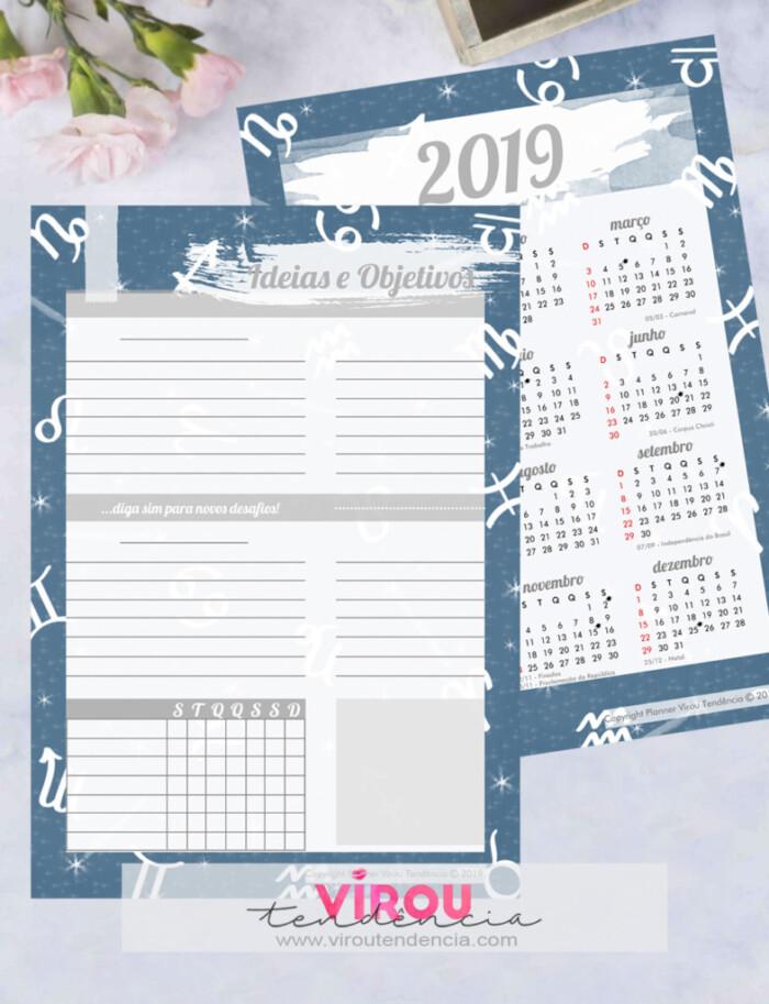 Planner 2019 - Signos