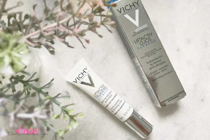 Resenha Vichy Liftactiv Supreme Olhos- creme anti-idade para os olhos