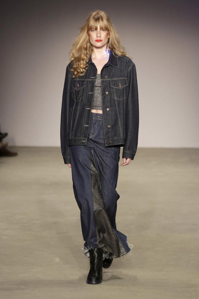 Desfile 2DM SPFW N46 + Vicunha Têxtil - Looks Total Jeans Inverno