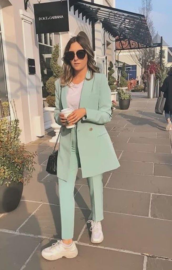 Looks com blazer colorido - como usar blazer feminino colorido - blazer verde
